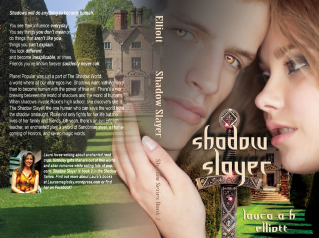 Cover for the paperback copy of Shadow Slayer