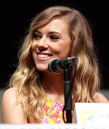 Scarlett Johansson as Julia (photo credit: wikipedia.com, taken at July 2013 San Diego Comic Con)