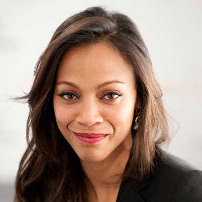 Zoe Saldana as Tamara Stephens (photo credit: http://www.biography.com)