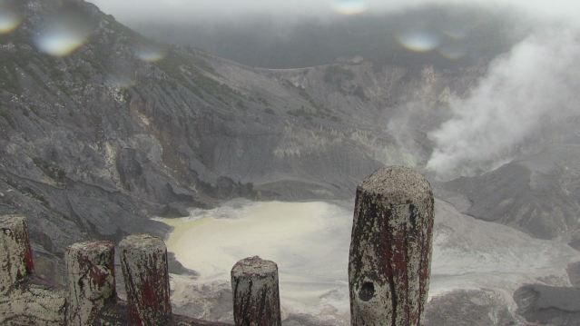 Tangumen Prahue Volcano, Bandung, Indonesia